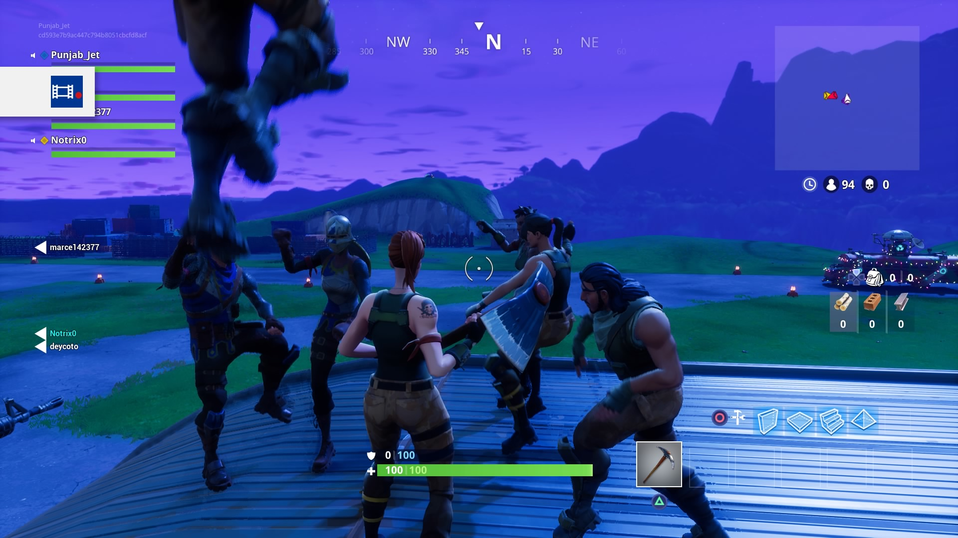 Fortnite Dance Party Wallpaper 63020