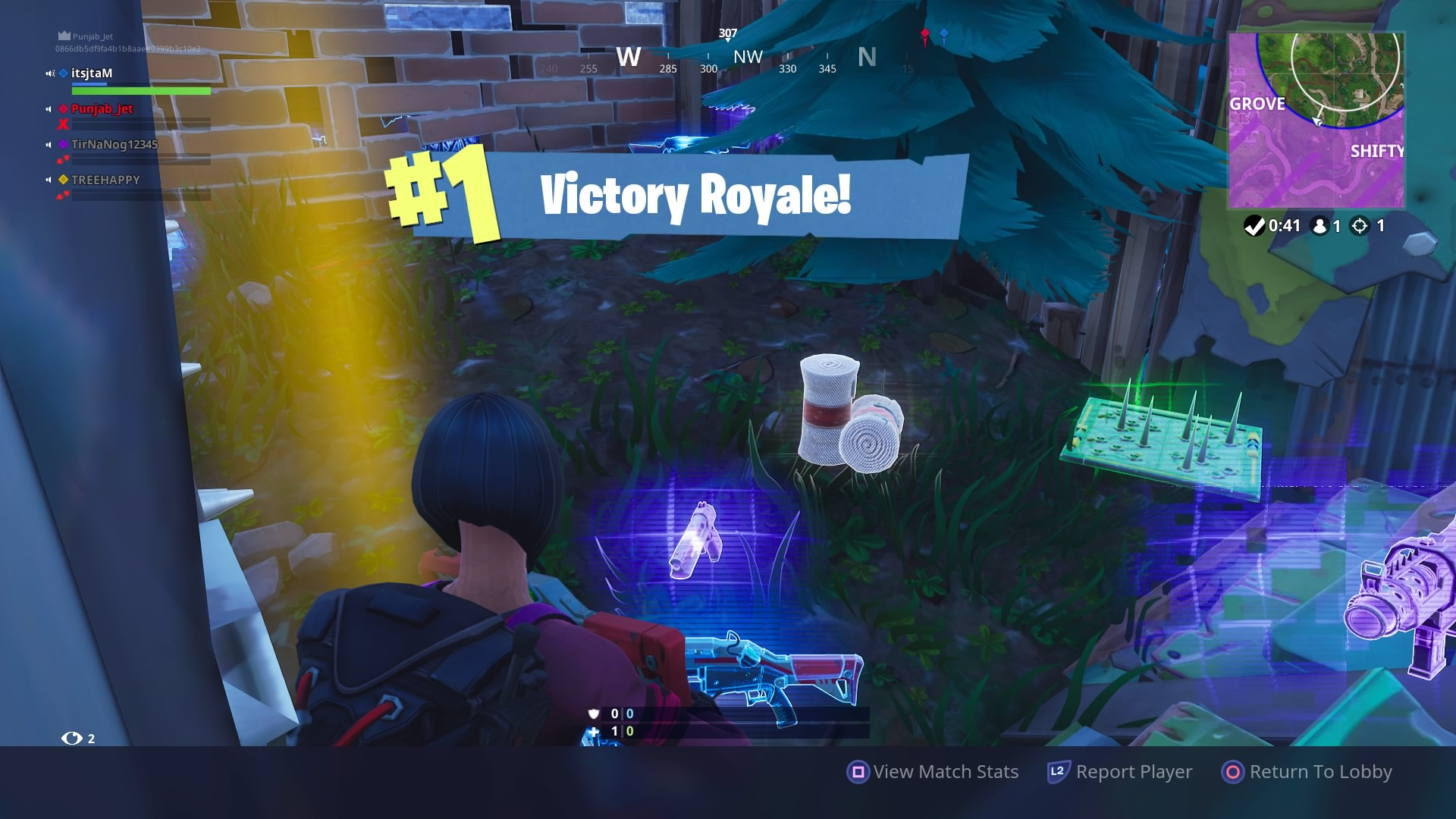 fortnite hd victory royale wallpaper 64461