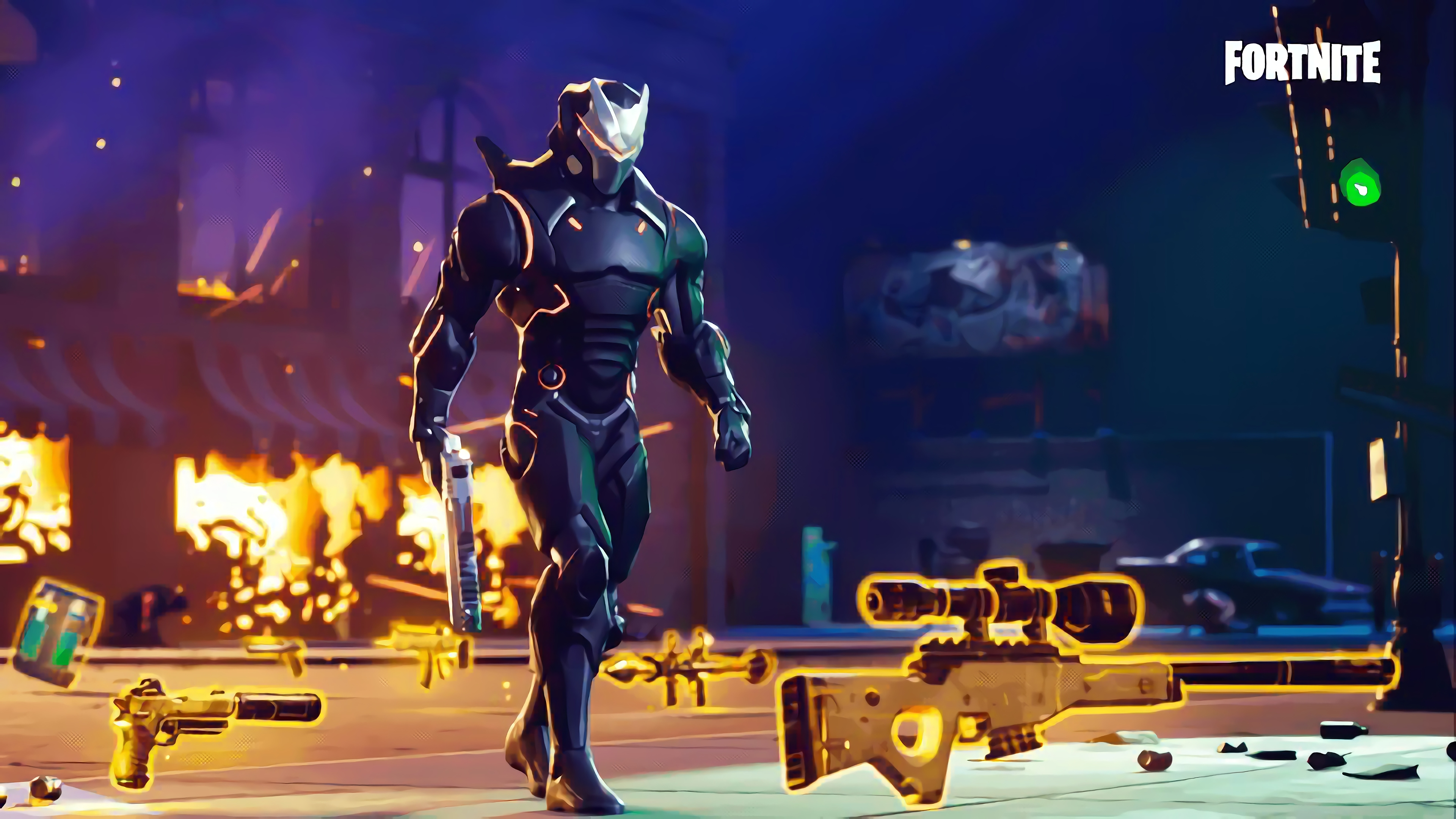 fortnite omega widescreen wallpaper 64132