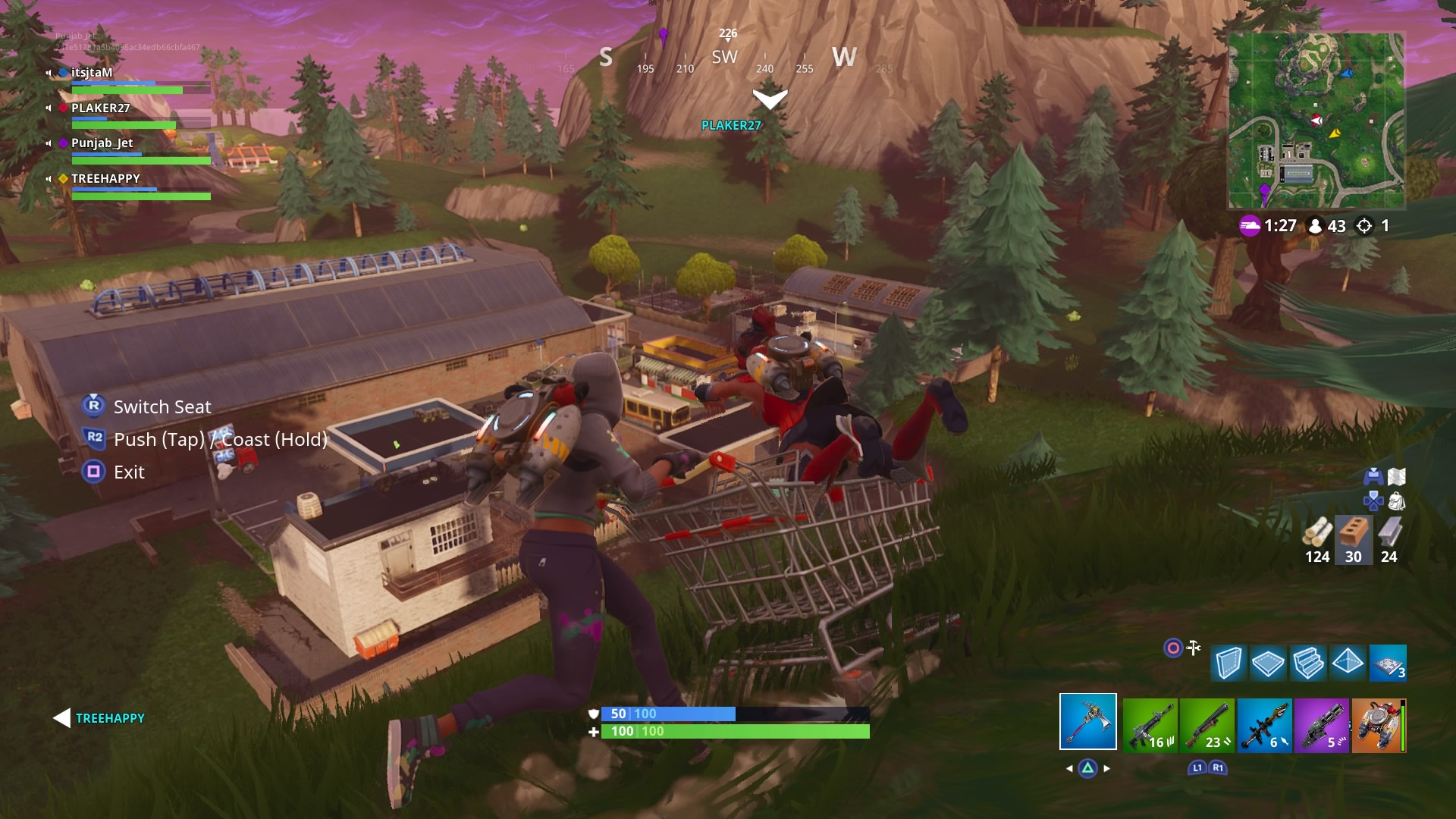 fortnite shopping cart computer wallpaper 64463