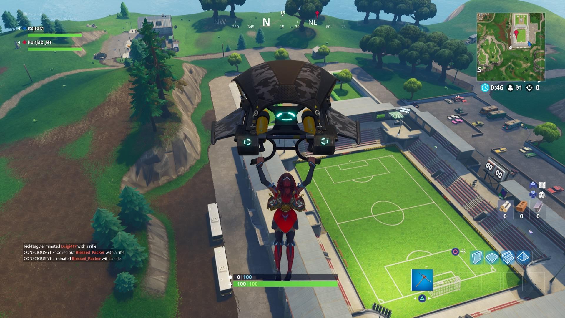 fortnite soccer field wallpaper 64469