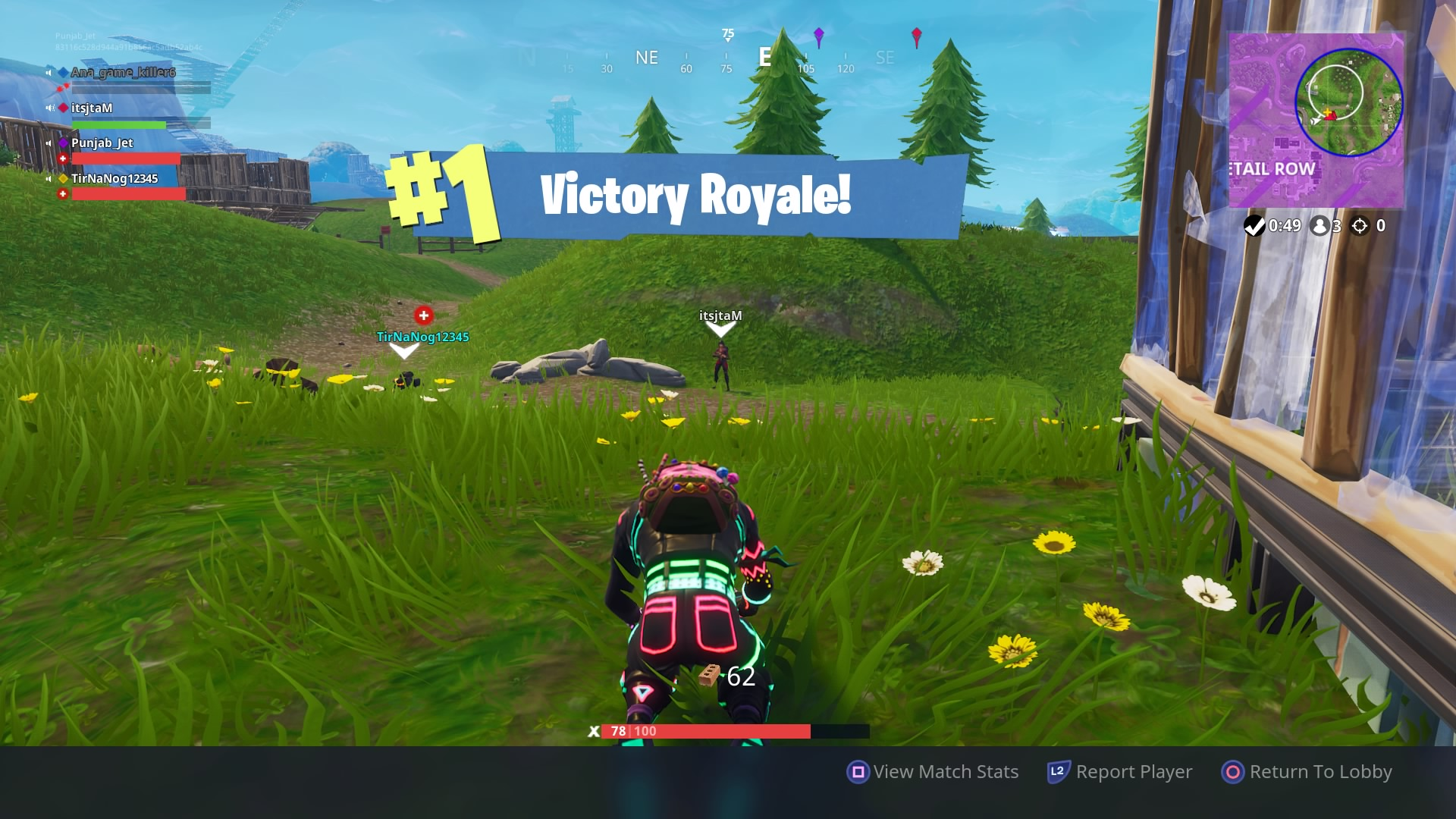 fortnite victory royal win wallpaper 64467