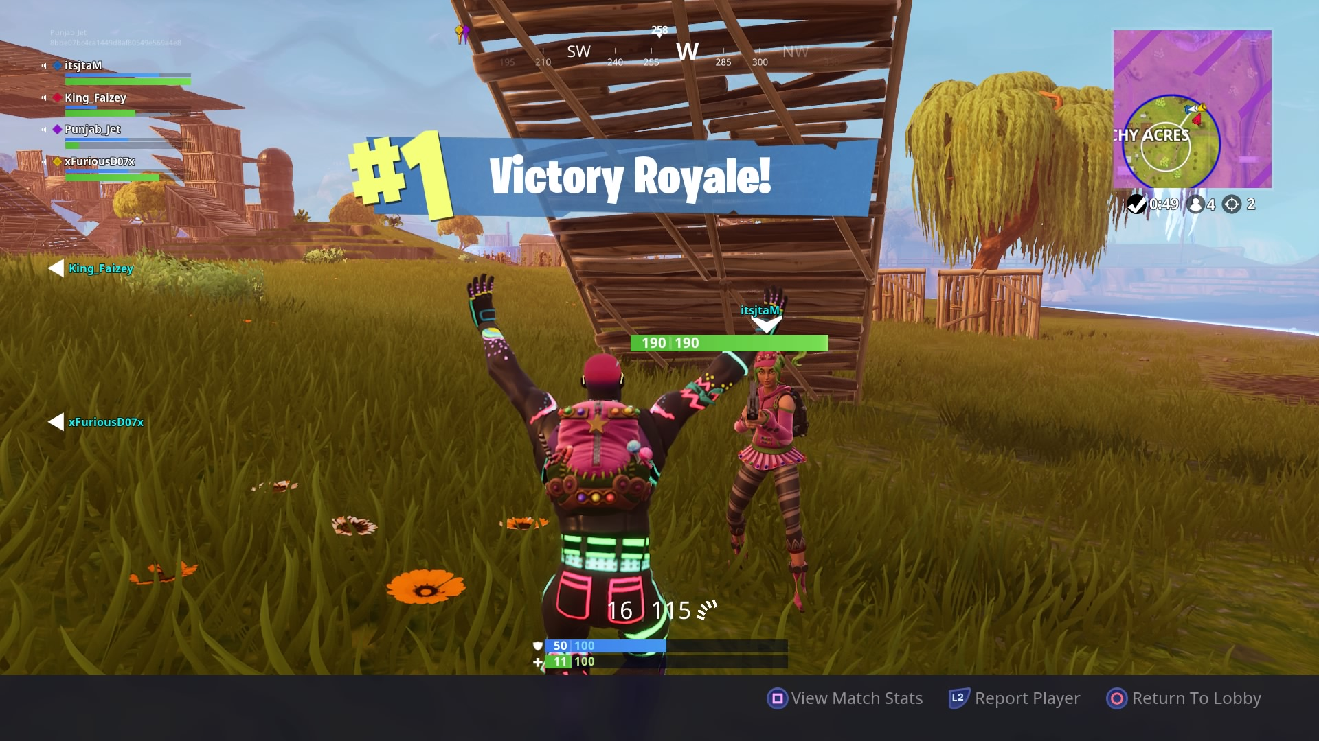Fortnite Victory Royale Game Wallpaper Background 64478 1920x1080px