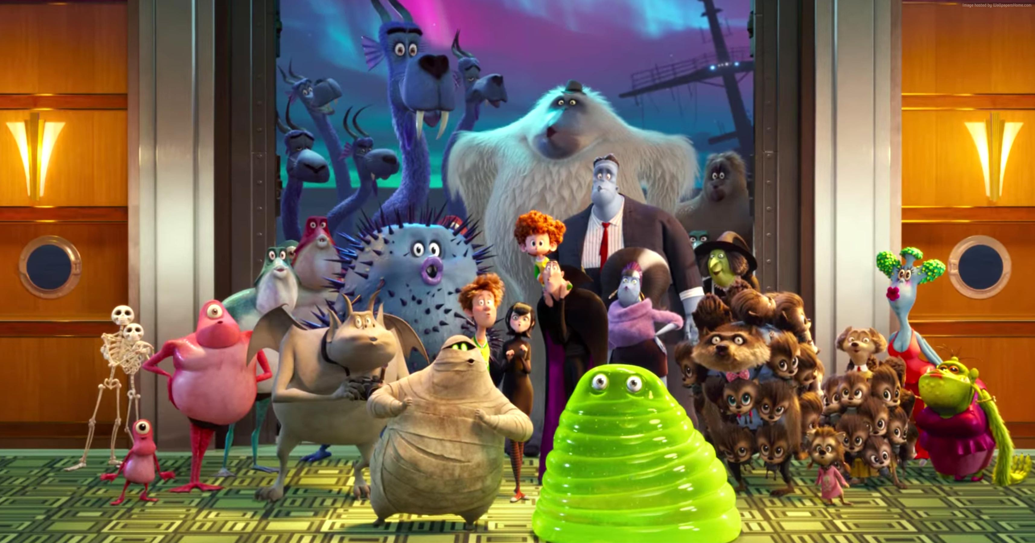 hotel transylvania 3 movie widescreen wallpaper 64763