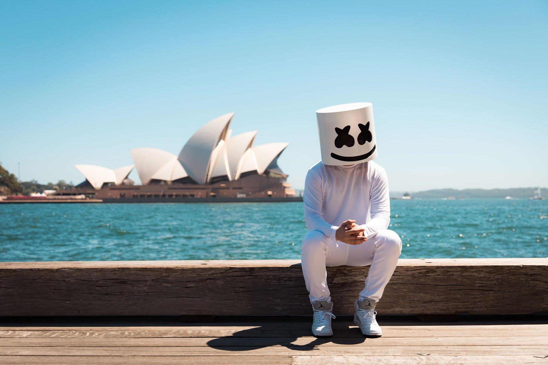 marshmello dj wallpaper hd 62752
