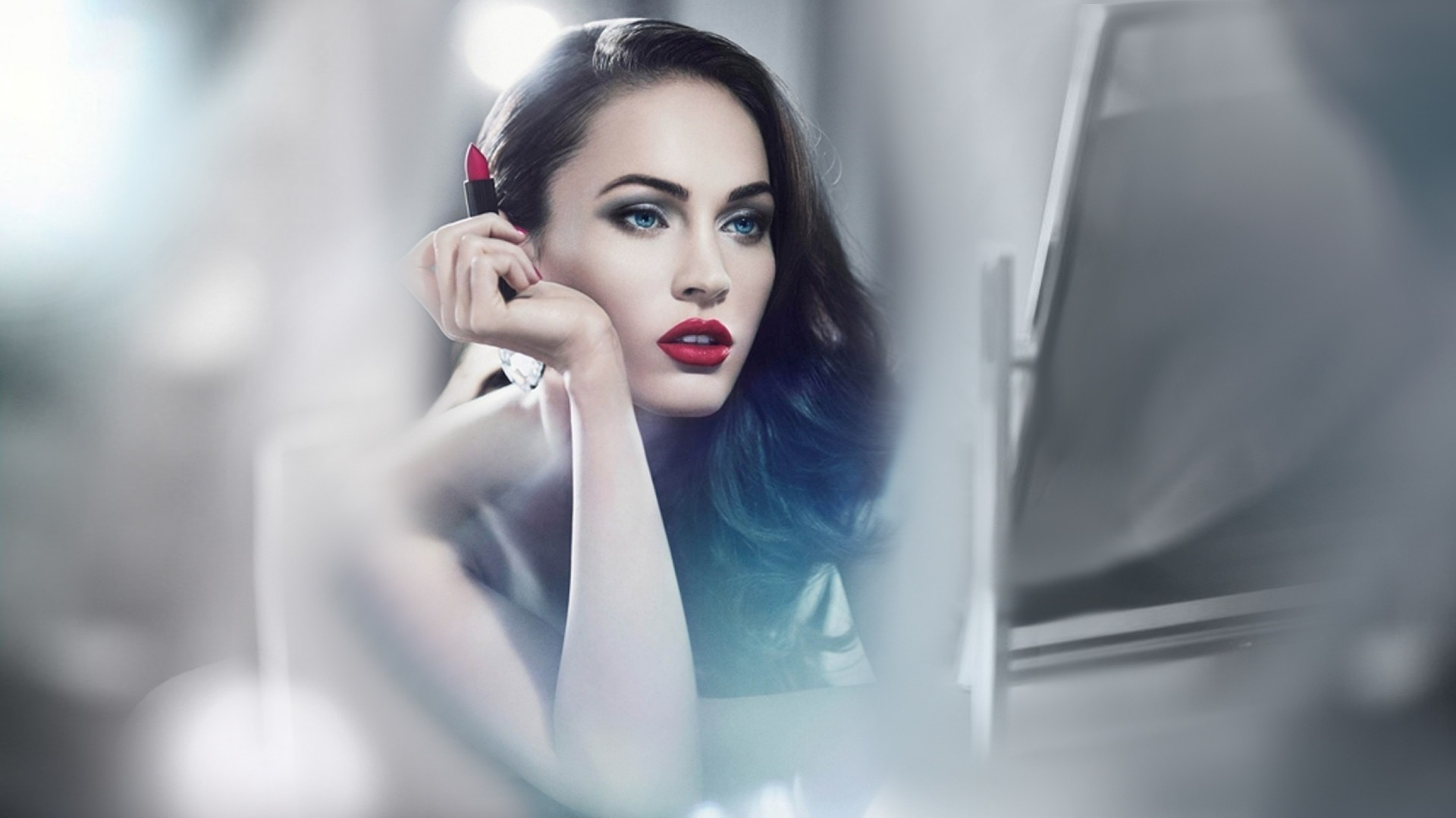 megan fox makeup hd wallpaper 64219