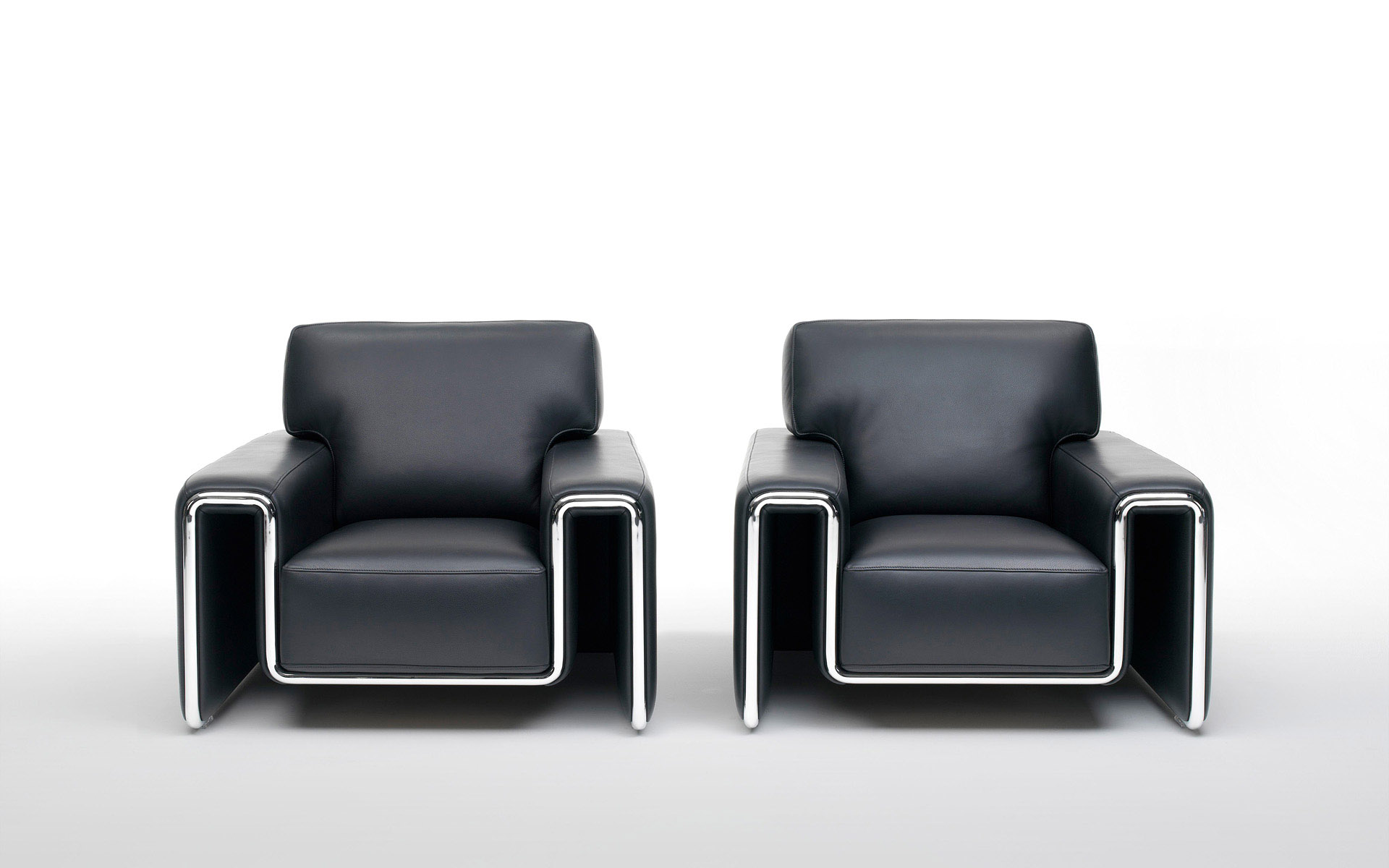 modern black chairs wallpaper 63895