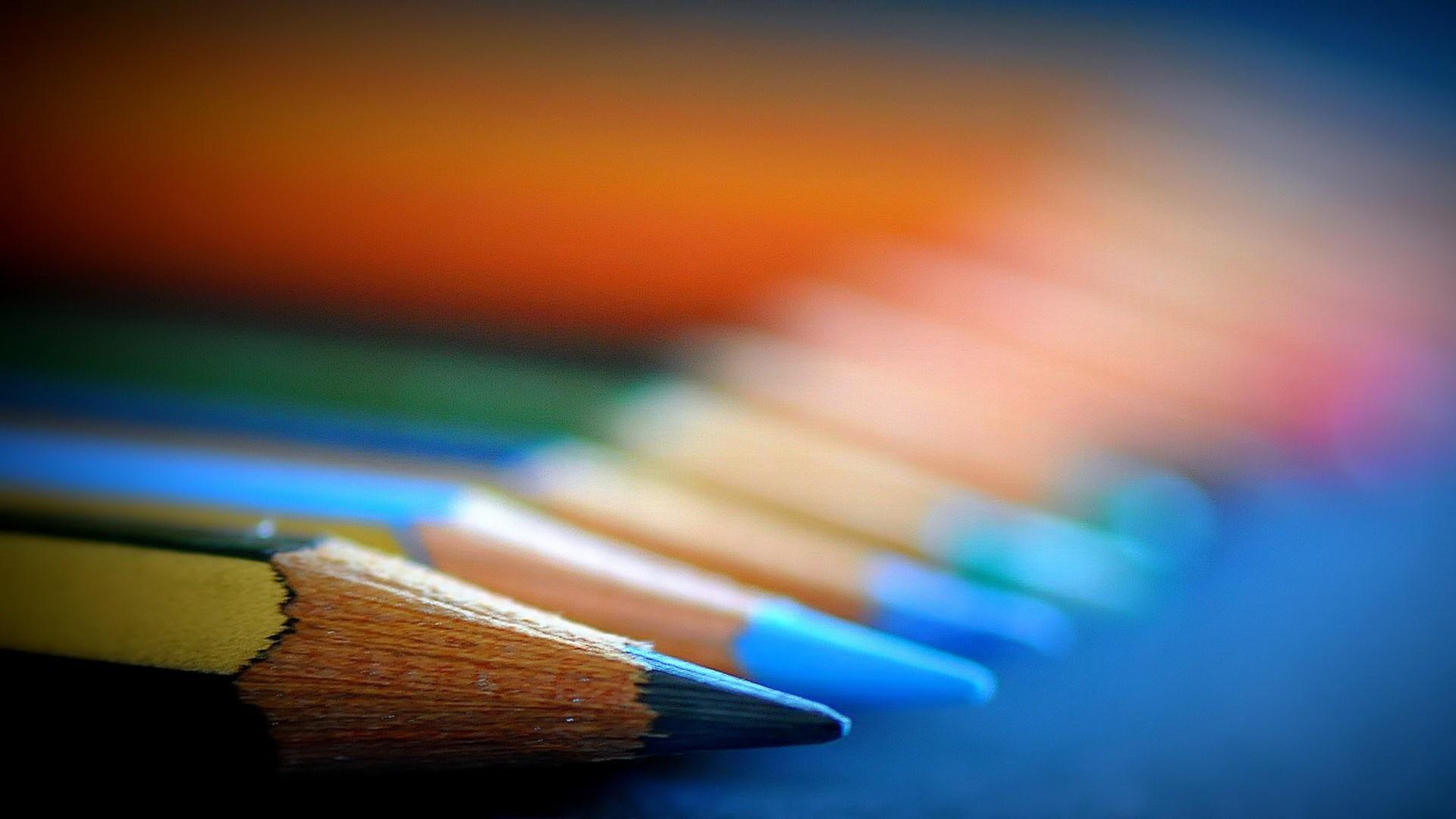 pencils up close hd wallpaper 64413