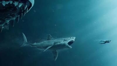 4K The Meg Movie Wallpaper 64769