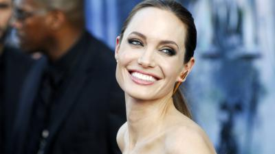 Angelina Jolie Smile Wallpaper Background 64287