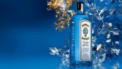 Bombay Sapphire Liquor Wallpaper 66342
