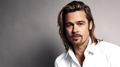 Brad Pitt Long Hair Wallpaper 64274