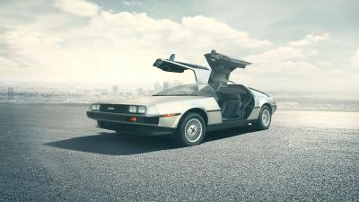DeLorean Car Desktop Wallpaper 62493