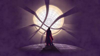 Doctor Strange Artwork Background Wallpaper 65073