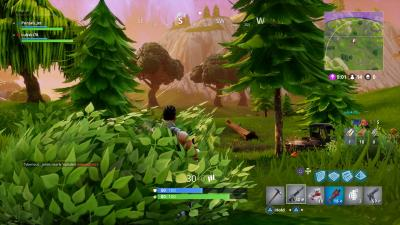 Fortnite In a Bush Wallpaper 63002