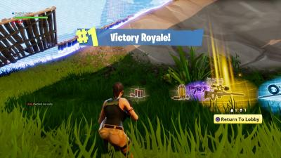 Fortnite Victory Desktop Wallpaper 63009