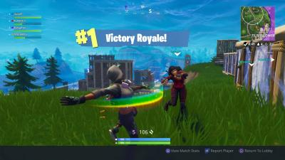 Fortnite Victory Royale Dance Wallpaper 64464