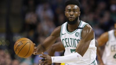 Jaylen Brown Dribbling Wallpaper 63742