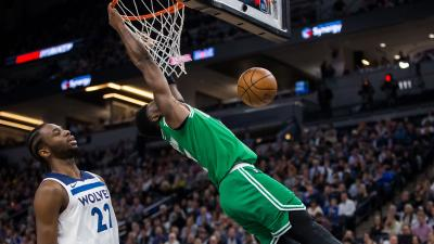 Jaylen Brown Dunk Wallpaper 63743