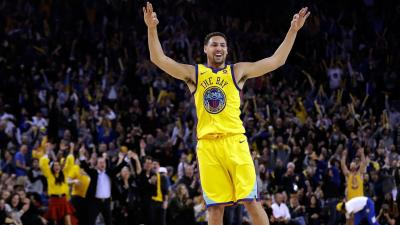 Klay Thompson Celebration Wallpaper 63625