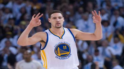 Klay Thompson Three Pointer Wallpaper 63627