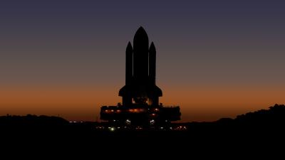 NASA Space Rocket Widescreen Wallpaper 63427