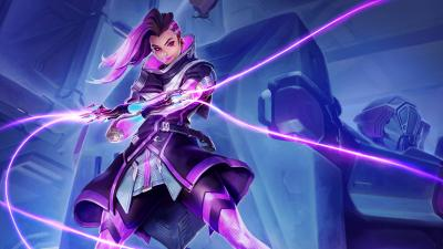 Overwatch Sombra Widescreen Wallpaper 62856