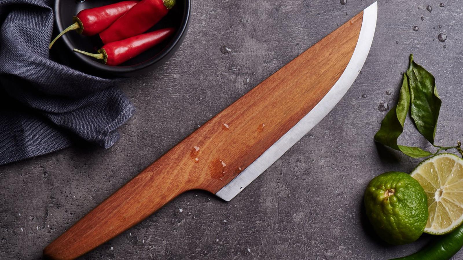 Wooden Kitchen Knife Wallpaper 62795