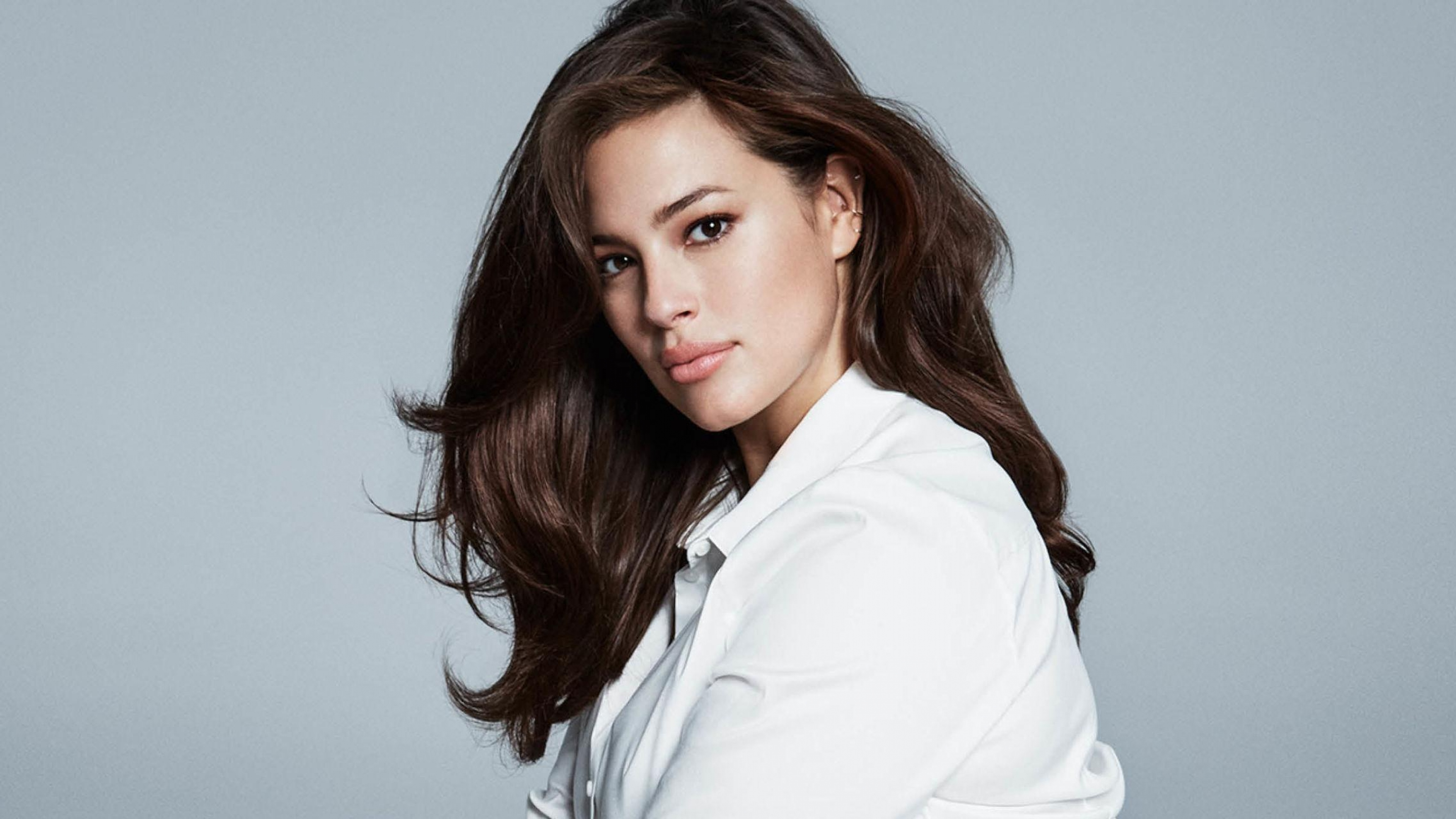 ashley graham model widescreen wallpaper 63397
