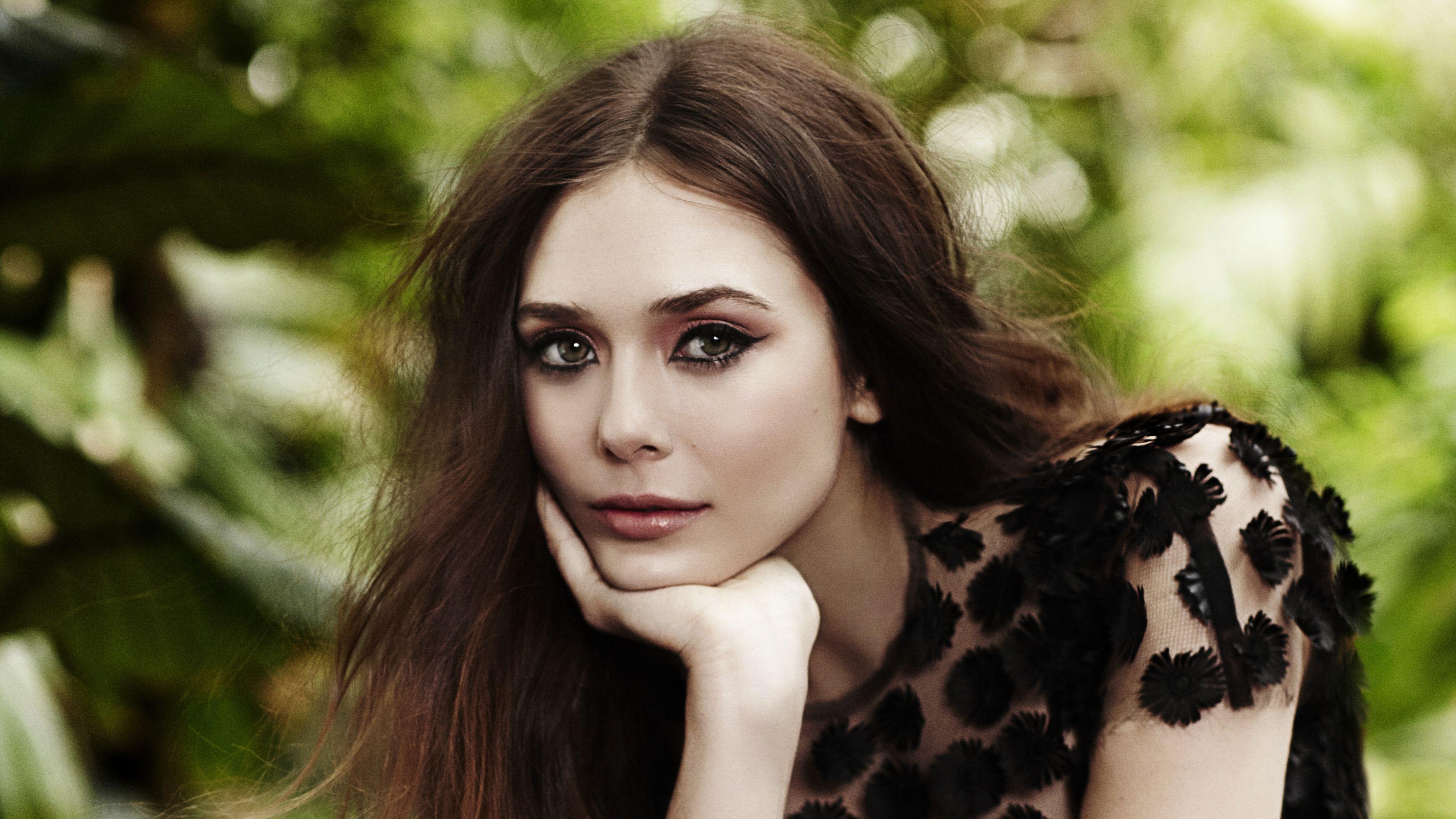 elizabeth olsen makeup widescreen wallpaper 66249