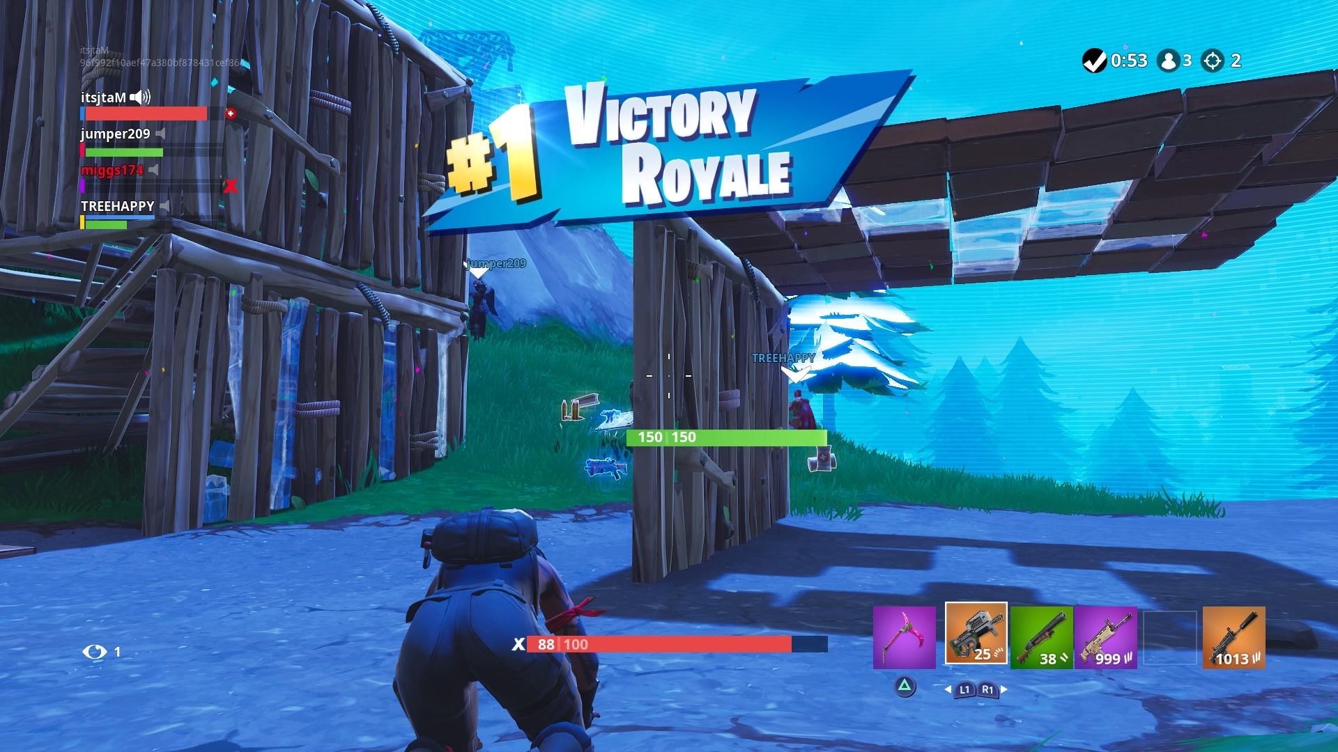 fortnite victory wallpaper 65470