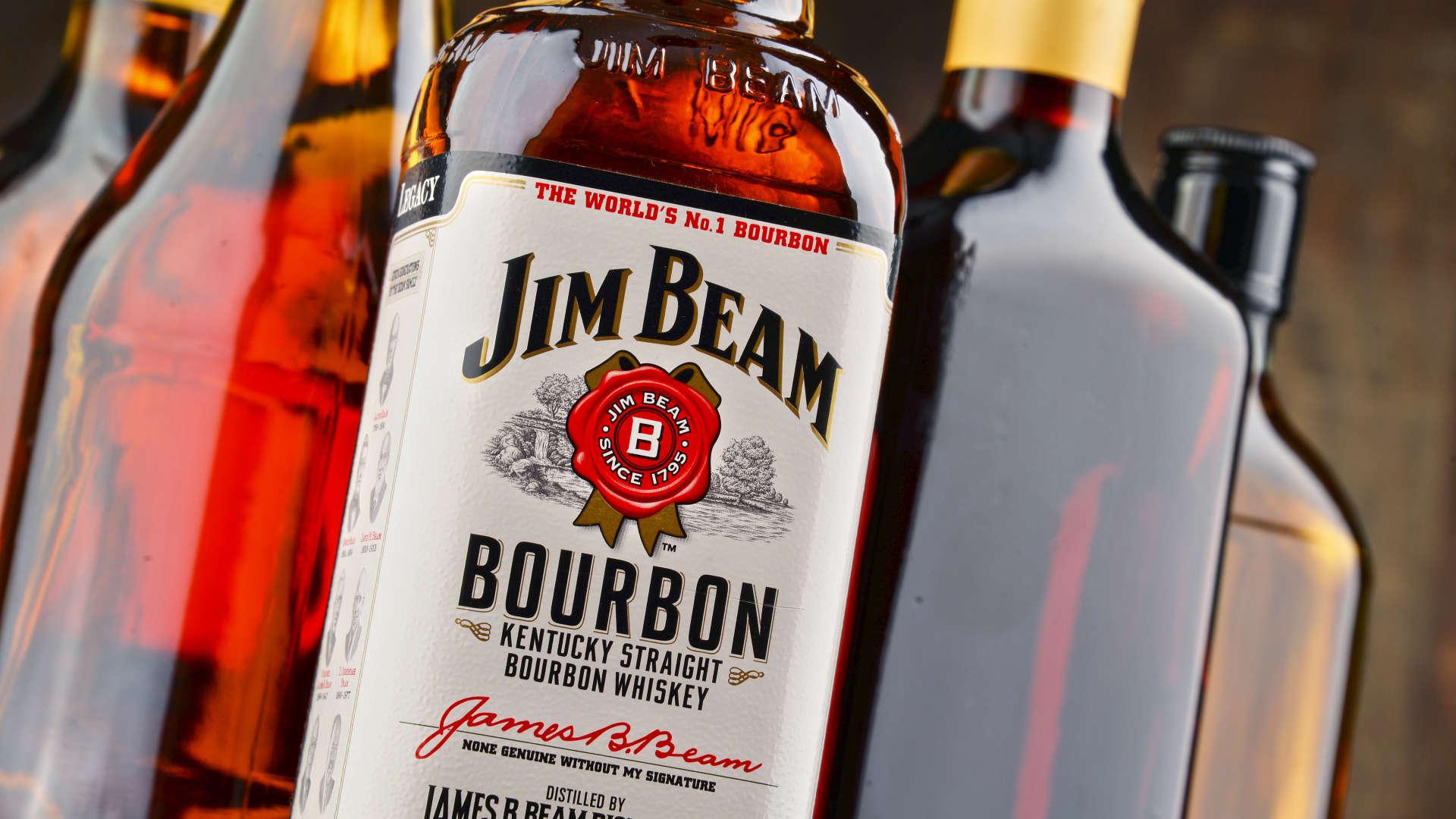 jim beam bottle hd wallpaper 66440