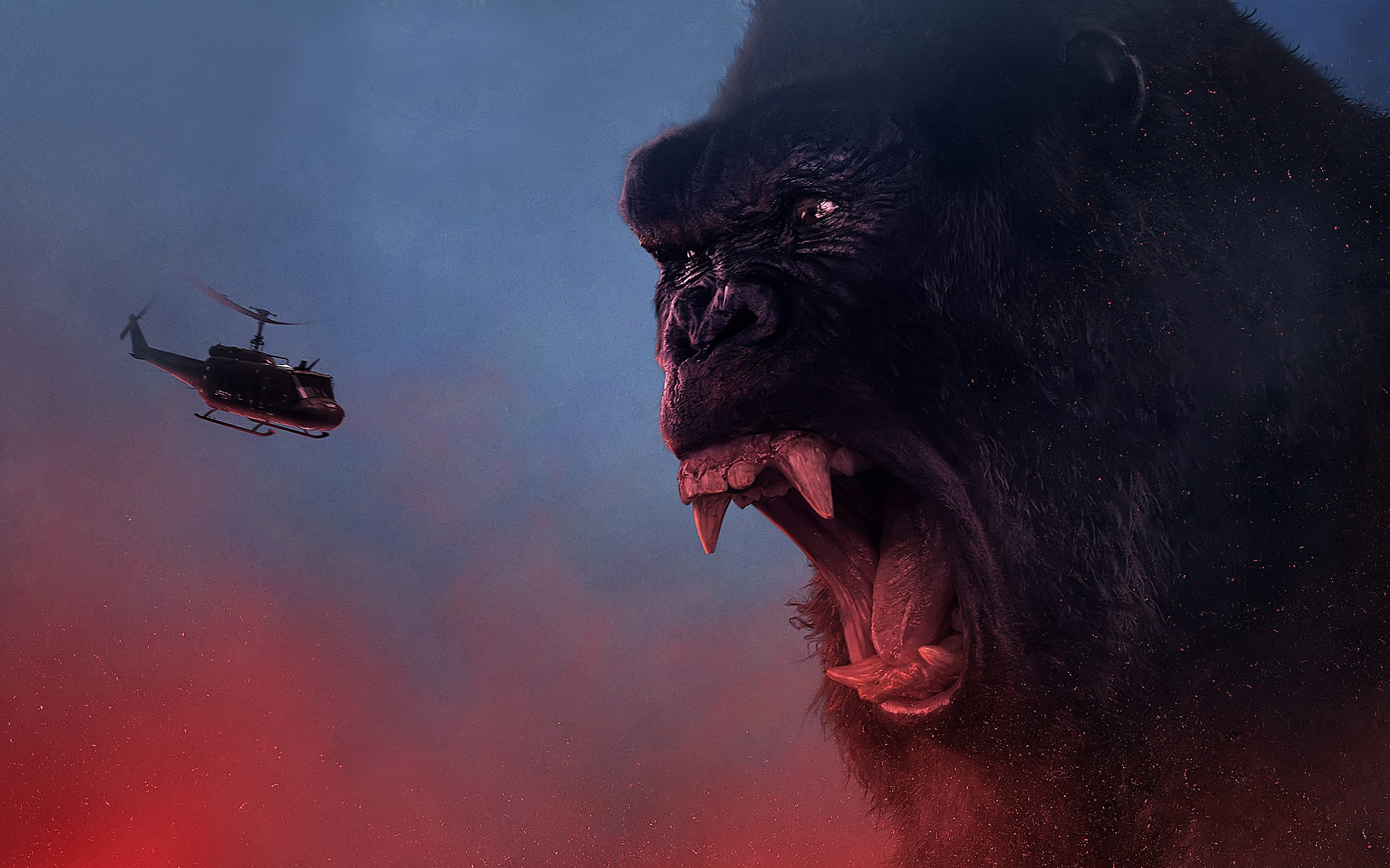 kong skull island movie hd wide wallpaper 65119