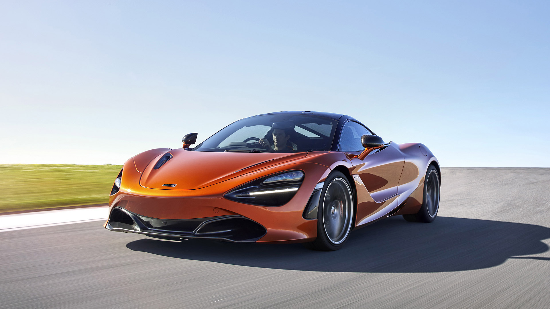 orange mclaren 720s car wallpaper 66180 68433 hd wallpapers