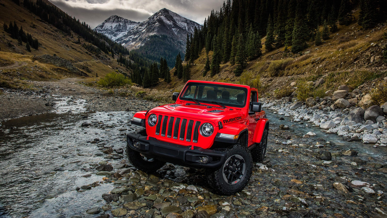red jeep wrangler widescreen wallpaper 65133