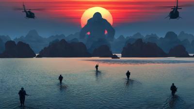4K Kong Skull Island Wallpaper 65125