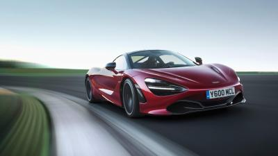 4K Red McLaren 720s Wallpaper 66178