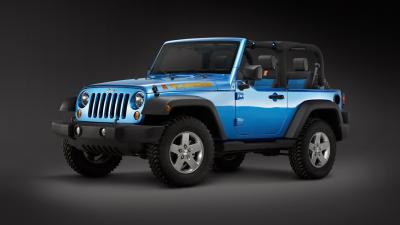 Blue Jeep Wrangler Wallpaper 65139