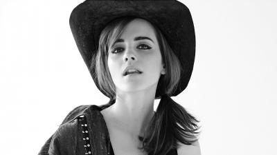 Emma Watson Cowboy Hat Wallpaper 65486