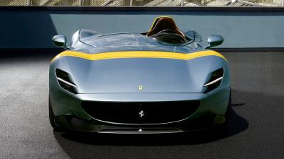 Ferrari Monza Front View Wallpaper 65320