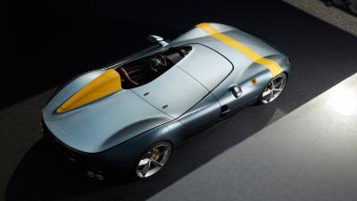 Ferrari Monza HD Top View Wallpaper 65325
