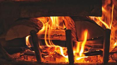 Fireplace Firewood HD Wallpaper 64995