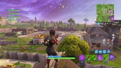 Fortnite Empty Retail Row Wallpaper 65469