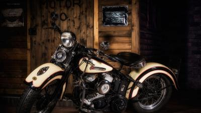Harley Davidson Widescreen Bike HD Wallpaper 64667