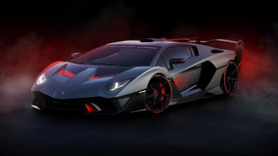 Lamborghini SC18 Background Wallpaper 66230
