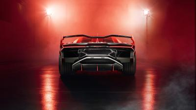 Lamborghini SC18 Rear View Wallpaper 66232