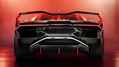 Lamborghini SC18 Rear View Wallpaper 66237