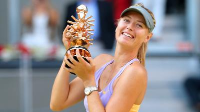 Maria Sharapova Trophy Wallpaper 65017