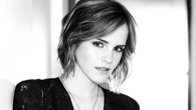 Monochrome Emma Watson Wallpaper 65482