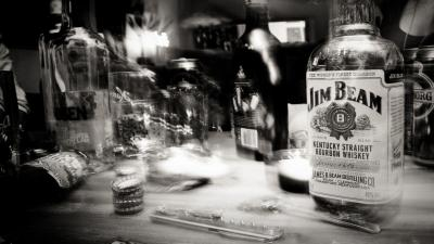 Monochrome Jim Beam Wallpaper 66434